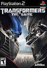 Transformers: The Game + BONUS Disc Sony PlayStation 2 (PS2) Greatest Hits RARE!