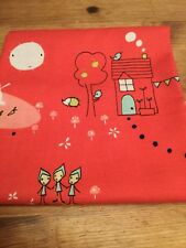SALE, BOLT END CLEARANCE, 110cm x 37cm, 100% Cotton Fabric, country characters