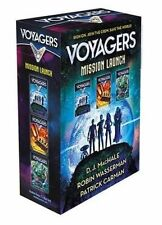 Voyagers Mission Launch Boxed Set (Books 1-3) by Robin Wasserman, D. J. MacHale