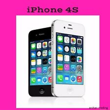 APPLE IPHONE 4S GSM FACTORY UNLOCKED AT&T T-Mobile Straigt talk sim cards