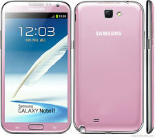 "5.5"" Samsung Galaxy Note 2 N7100 16GB Unlocked (AT&T T-Mobile) Black/White/Pink"