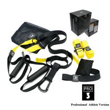 Home Fitness Suspension Trainer Workout Band Resistance Strength Training Strap