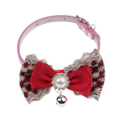 Fashion Adjustable Bow Tie Collar Necktie Bowknot Clothes For Pet Dog Cat Puppy