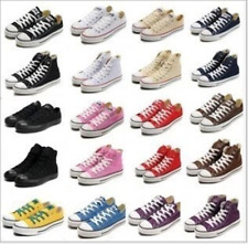 HOT! Women Man ALL STARs Chuck Taylor Ox Low High Top shoes Canvas Sneakers