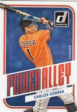 (75) 2016 Donruss CARLOS CORREA Power Alley Insert Card LOT #PA4 Astros
