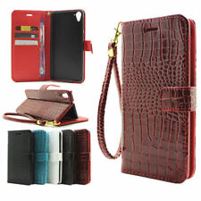 100% Genuine Crocodile Flip Wallet Case Leather Stand Cover For Apple iPhone