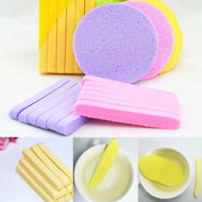 12Pcs Facial Stick Face Cleansing Pad Compressed Cleaning Wash Skin Puff Sponge