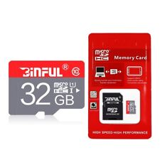 High Speed Micro SD Card 16GB 32GB TF Card Class10 SDHC/SDXC With Adapter