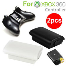 2PCS AA Battery Shell Back Cover Case For Microsoft Xbox 360 Wireless Controller