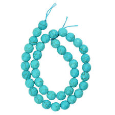 15.5'' Green Howlite Turquoise Faceted Round Loose Beads DIY Jewelry Crafts