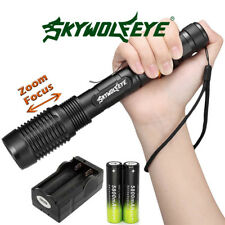 Ultrafire 12000 Lumen 5 Modes T6 LED Zoomable Flashlight Torch 18650 Charger