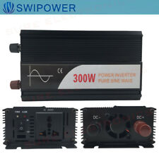 PURE WAVE SINE INVERTER 300W 1000W 3000W DC 12V OR 24V to AC220V AU