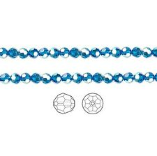 12 Swarovski Crystal Beads Faceted Round 5000 4mm, 12 Swarovski Beads 5000 4mm