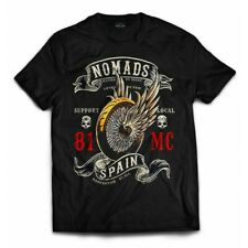 01 Hells Angels Nomads Spain Support 81 T-Shirt Winged Wheel