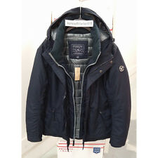 AMERICAN EAGLE OUTFITTERS AEO MENS HOODED PARKA JACKET NAVY SIZE LARGE