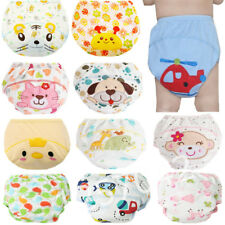 1Pcs Cute Baby Diapers Reusable Nappies Cloth Diaper Washable Infants Children