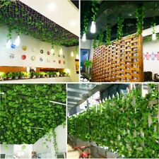 Artificial Plants 2.2M Fake Ivy Leaf Foliage Bush Home Office Garden Decor GNK9