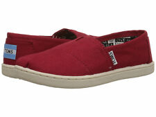 Toms Canvas Classic Kids Red