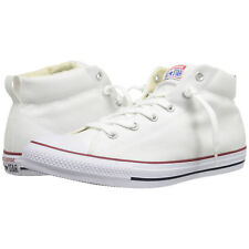 Converse Unisex Chuck Taylor All Star Street Mid White Natural White