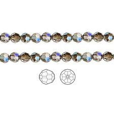 12 Swarovski Crystal Beads Faceted Round 5000 8mm, 12 Swarovski Beads 5000 8mm