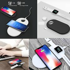 Qi Wireless Charger Charging Pad for Apple Watch iPhone X 8 8+ Samsung Note 8