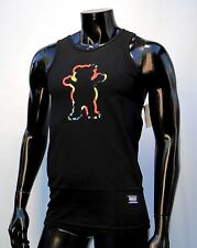 Grizzly griptape x supply co. The dye outline oc bear Mens Muscle T Shirt