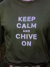 the CHIVE *Authentic* Military KCCO T-Shirt L XL XXL XXXL White Brown Sand Navy