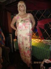 WOMAN'S SIZE 18W PASTEL FLORAL DRESS WITH LINING BY KSL DIV.. OF KARIN STEVENS