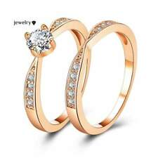 Women's Ring Rose Gold Wedding Rings Jewelry Cubic Zirconia Ring For Women Rings