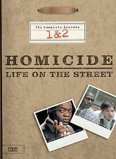 Homicide: Life on the Street - The Complete Seasons 1  2 (DVD, 2003, 4-Disc Set)