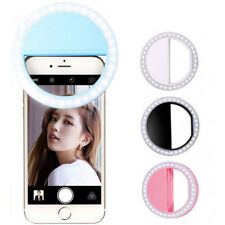 Universal Selfie LED Flash Ring - Spotlight/Fill Light & Smartphone Camera Lamp