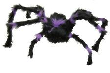 Spider Prop Hairy Poseable Furry Haunted House Halloween Scary Creepy JA91