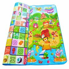 0.5cm Double-sided Baby Crawling Play Mat Children Puzzle Pad Kids Rug Gym Soft