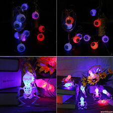 String Light Halloween Decoration Ghost Lamp Battery Party Outdoor New csa