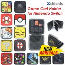 12-in-1 Games Card Cartridge Case Holder for Nintendo Switch Storage Box Travel