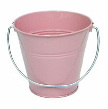 "Italia Metal Bucket Party Favor 7.5 x 7.5"" 6 Buckets"
