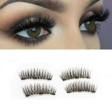 4pcs 3D Magnetic False Eyelashes Handmade Natural Extension Eye Lashes Thick