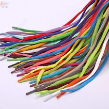 1Pairs Oval Athletic Shoelaces Sport Sneaker Boots Shoe Laces Strings Multicolor
