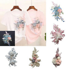 6 Style Embroidery Flowers Sew On Patch Badge Bag Hat Jeans Dress Applique Craft