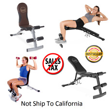 Impex Powerhouse Strength Series Phc1955 Workout Bench Ebay