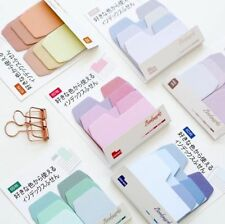 Colorful Simple Gradient Self-Adhesive Index Memo Pad Sticky Notes Bookmark