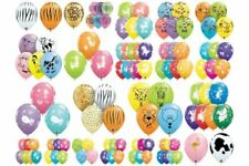 "Qualatex 25 x 11"" Animal Print Latex Balloons Suitable for air or helium"
