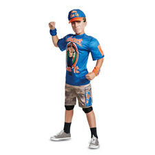 Official WWE Authentic John Cena Youth Muscle Costume Blue