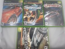 Need for Speed Games Pick One (Microsoft, Xbox) Complete / Disc Only