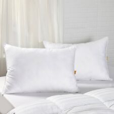 Puredown® 2 Pack 30% Goose Down Bed Pillows for sleeping, 100% Cotton Cover