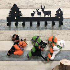Halloween Props Doll Door Hanging Pendant Wall Ornament Home Office Decoration
