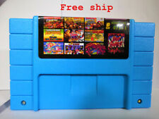 49 in 1 SNES Multi Cart Game - Metroid Zelda Mario World Gundam Free Shipping
