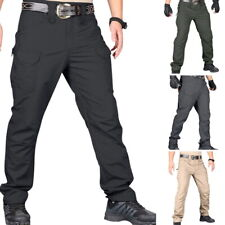 Tactical Pants Men Hiking Combat Quick Dry Lightweight Cargo Hiking Outdoor US