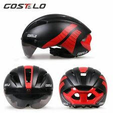 Costelo road bike goggle helmet MTB mountain bicycle helmet  with goggle