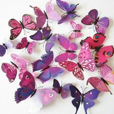 Butterfly Decals Wall Sticker Home Decor Poster for Kids Rooms